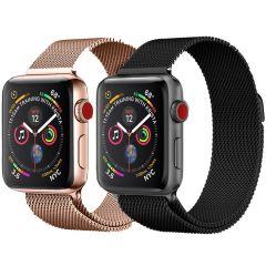 iMoshion Milanees bandje Multipack Apple Watch 1 t/m 6 / SE - 42/44mm