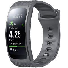 iMoshion Siliconen bandje Samsung Gear Fit 2 / 2 Pro - Grijs