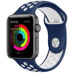 iMoshion Siliconen sport bandje Apple Watch Series 1-7 / SE - 42/44mm