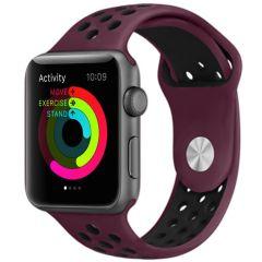 iMoshion Siliconen sport bandje Apple Watch 1 t/m 6 / SE - 42/44mm