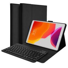 Accezz QWERTY Bluetooth Keyboard Bookcase iPad 10.2 (2019 / 2020 / 2021)