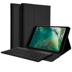 Accezz QWERTY Bluetooth Keyboard Bookcase iPad (2018)/(2017)/Air(2)