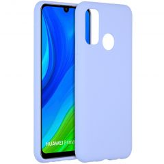 Accezz Liquid Silicone Backcover Huawei P Smart (2020) - Lilac