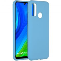Accezz Liquid Silicone Backcover Huawei P Smart (2020) - Sky Blue