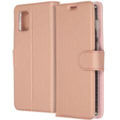 Accezz Wallet Softcase Booktype Samsung Galaxy A31 - Rosé Goud