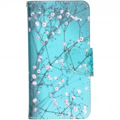 Design Softcase Booktype Samsung Galaxy A40 - Bloesem