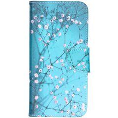 Design Softcase Booktype Samsung Galaxy A50 / A30s - Bloesem