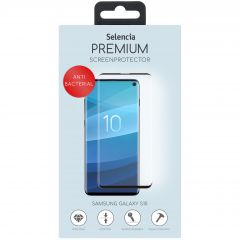 Selencia Gehard Glas Anti-Bacteriële Screenprotector Galaxy S10