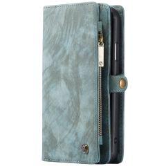 CaseMe Luxe Lederen 2 in 1 Portemonnee Booktype iPhone 11 - Groen