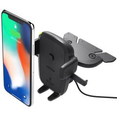 iOttie Easy One Touch Wireless Fast Charging CD-Slot Mount Houder
