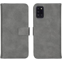 iMoshion Luxe Booktype Samsung Galaxy A31 - Grijs