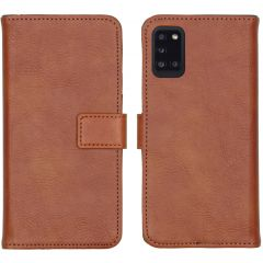 iMoshion Luxe Booktype Samsung Galaxy A31 - Bruin