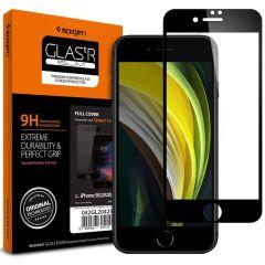 Spigen GLAStR Screenprotector iPhone SE (2020) / 8 / 7 - Zwart