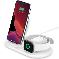 Belkin 3-in-1 Wireless Charger iPhone + Apple Watch + AirPods