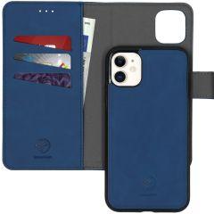 iMoshion Uitneembare 2-in-1 Luxe Booktype iPhone 11 - Donkerblauw