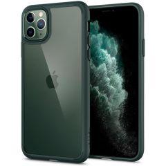 Spigen Ultra Hybrid Backcover iPhone 11 Pro Max - Groen