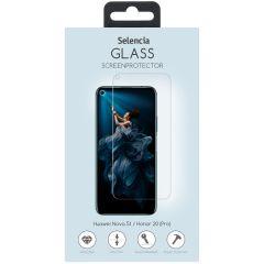Selencia Gehard Glas Screenprotector Huawei Nova 5t / Honor 20 (Pro)