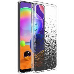 iMoshion Design hoesje Samsung Galaxy A31 - Spetters - Zwart
