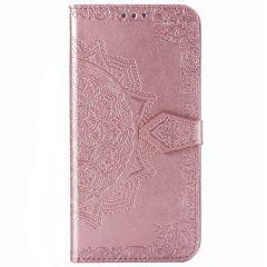 Mandala Booktype Xiaomi Mi Note 10 Lite - Rosé Goud