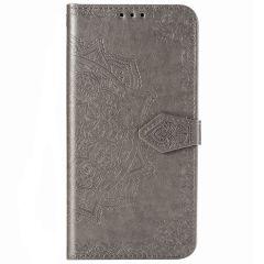 Mandala Booktype Xiaomi Mi Note 10 Lite - Grijs
