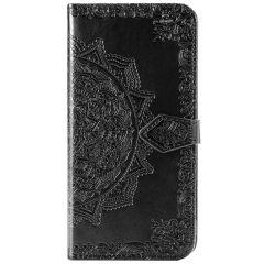 Mandala Booktype Xiaomi Mi Note 10 Lite - Zwart