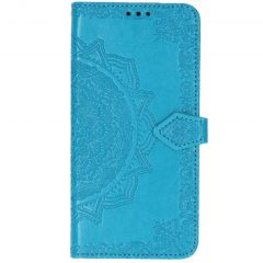 Mandala Booktype Xiaomi Mi Note 10 (Pro) - Turquoise