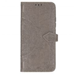Mandala Booktype Xiaomi Mi Note 10 (Pro) - Grijs