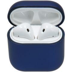 iMoshion Hardcover Case AirPods - Mat Blauw