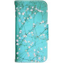Design Softcase Booktype iPhone 12 Mini - Bloesem