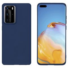 iMoshion Color Backcover Huawei P40 Pro - Donkerblauw