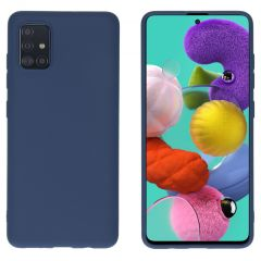 iMoshion Color Backcover Samsung Galaxy A51 - Donkerblauw
