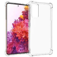 iMoshion Shockproof Case Samsung Galaxy S20 FE - Transparant
