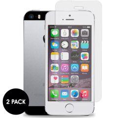 iMoshion Screenprotector Gehard Glas 2 pack iPhone SE / 5 / 5s