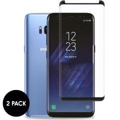 iMoshion Screenprotector Gehard Glas 2 pack Samsung Galaxy S8