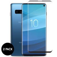 iMoshion Screenprotector Gehard Glas 2 pack Samsung Galaxy S10