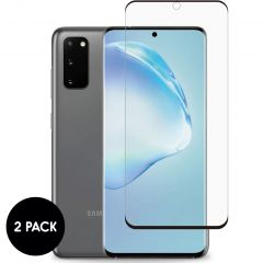 iMoshion Screenprotector Gehard Glas 2 pack Samsung Galaxy S20