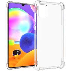 iMoshion Shockproof Case Samsung Galaxy A31 - Transparant
