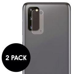 iMoshion Camera Protector Glas 2 Pack Samsung Galaxy S20
