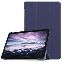 iMoshion Trifold Bookcase Galaxy Tab A 10.5 (2018) - Donkerblauw
