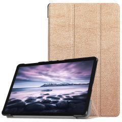 iMoshion Trifold Bookcase Galaxy Tab A 10.5 (2018) - Goud