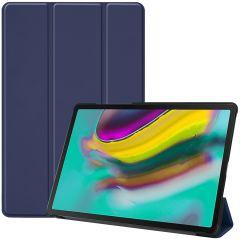 iMoshion Trifold Bookcase Samsung Galaxy Tab S5e - Donkerblauw