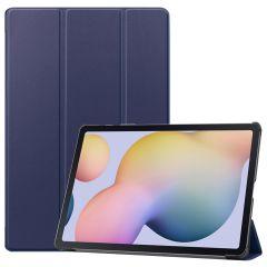 iMoshion Trifold Bookcase Samsung Galaxy Tab S7 Plus / Tab S7 FE 5G - Donkerblauw