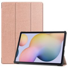 iMoshion Trifold Bookcase Samsung Galaxy Tab S7 Plus / Tab S7 FE 5G - Rosé Goud