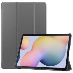 iMoshion Trifold Bookcase Samsung Galaxy Tab S7 Plus / Tab S7 FE 5G - Grijs