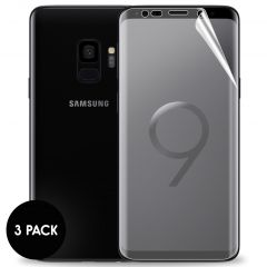 iMoshion Screenprotector Folie 3 pack Samsung Galaxy S9