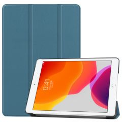 iMoshion Trifold Bookcase iPad 10.2 (2019 / 2020 / 2021) - Donkergroen
