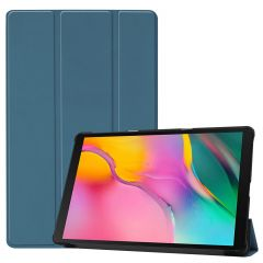 iMoshion Trifold Bookcase Galaxy Tab A 10.1 (2019) - Donkergroen