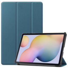 iMoshion Trifold Bookcase Samsung Galaxy Tab S7 - Donkergroen