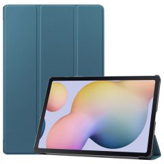 iMoshion Trifold Bookcase Samsung Galaxy Tab S7 Plus / Tab S7 FE 5G - Donkergroen