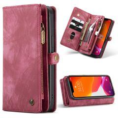 CaseMe Luxe Lederen 2 in 1 Portemonnee Booktype iPhone 12 (Pro)